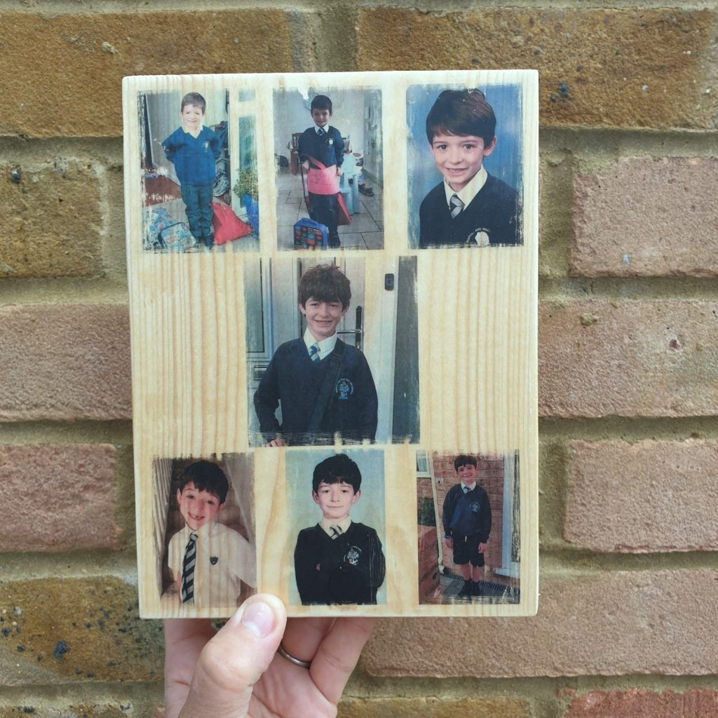 School Photo Collage - A Cherished Keepsake